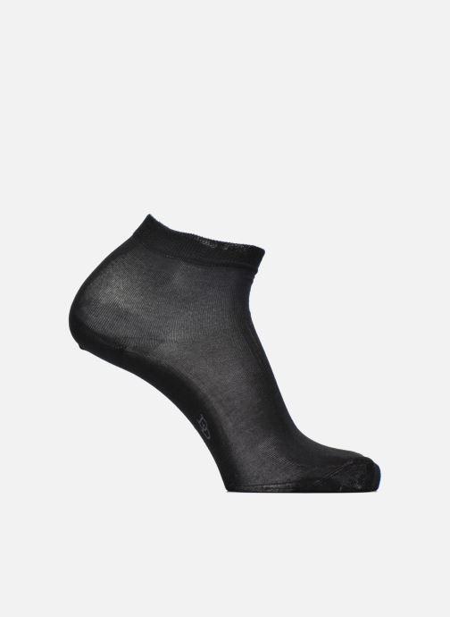 Sokken en panty's Doré Doré Chaussettes Socquettes Maille Unie E-day Zwart detail