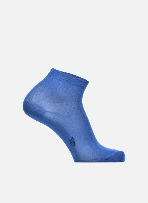 Chaussettes et collants Doré Doré Chaussettes Socquettes Maille Unie E-day Bleu vue détail/paire