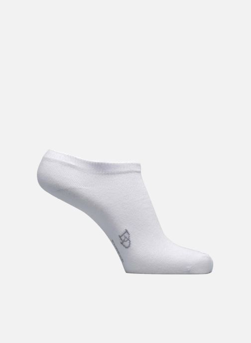 Socks & tights Doré Doré Chaussettes Sneakers Maille Unie E-day White detailed view/ Pair view