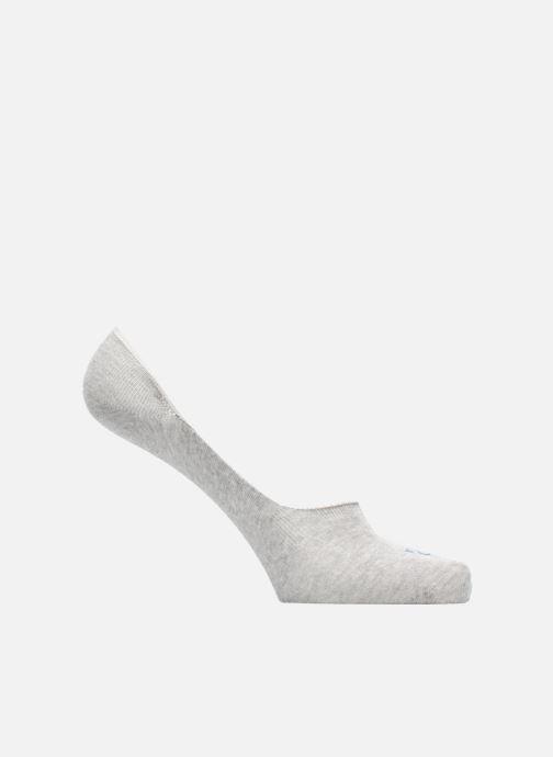 Chaussettes et collants Doré Doré Chaussettes Liners Solerette Unisex Gris vue détail/paire