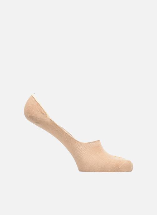 Sokken en panty's Doré Doré Chaussettes Liners Solerette Unisex Beige detail