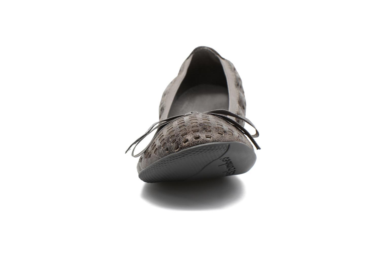 Ballerines Les P'tites Bombes Ella Laser Noir vue portées chaussures