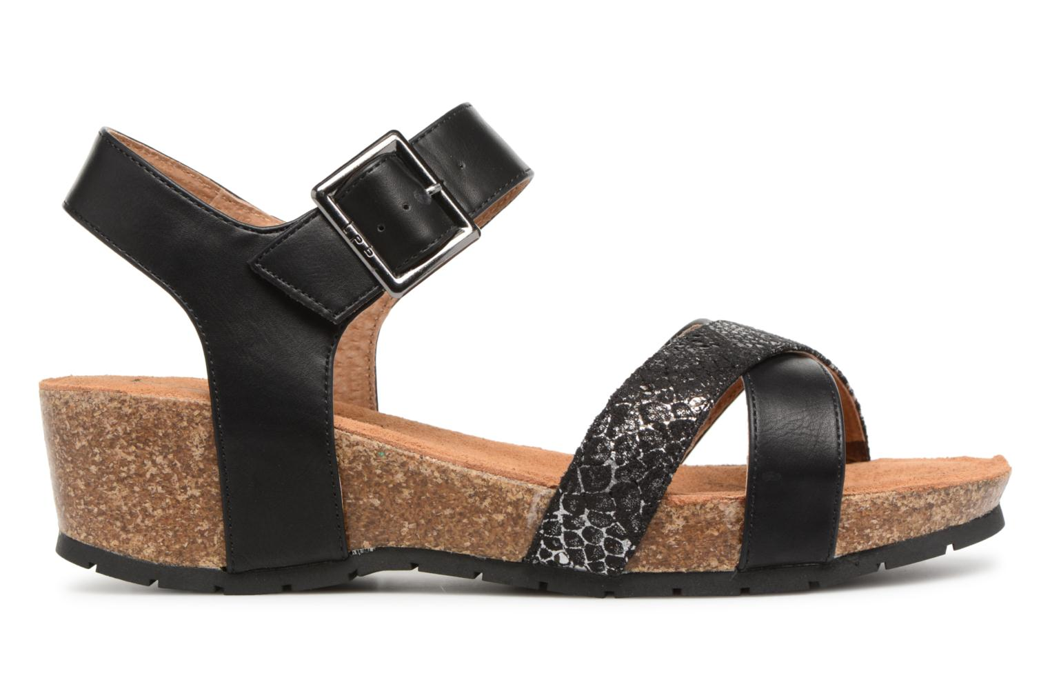 Sandals Les P'tites Bombes Paloma Black back view