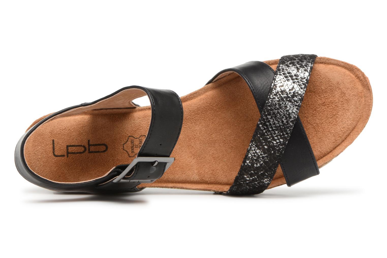 Sandali e scarpe aperte Les P'tites Bombes Paloma Nero immagine sinistra