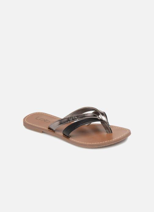 Flip flops & klipklapper Les P'tites Bombes KALINDA Sort detaljeret billede af skoene