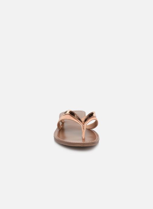 Flip flops & klipklapper Les P'tites Bombes KALINDA Guld og bronze se skoene på