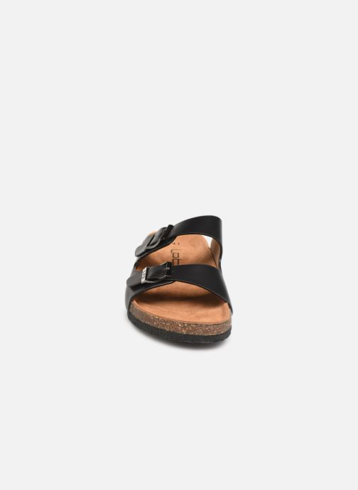 Mules et sabots Les P'tites Bombes Orphee Noir vue portées chaussures