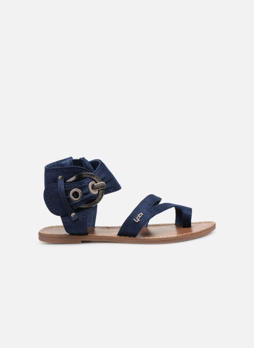 Sandales et nu-pieds Les P'tites Bombes PENSEE Bleu vue derrière