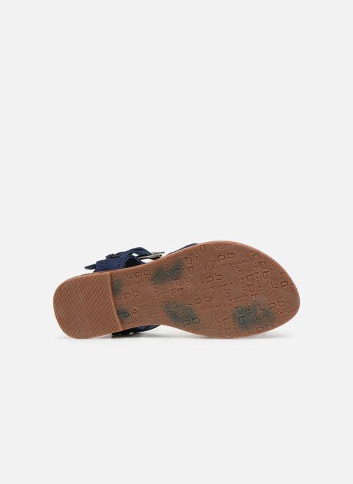 Sandales et nu-pieds Les P'tites Bombes PENSEE Bleu vue haut