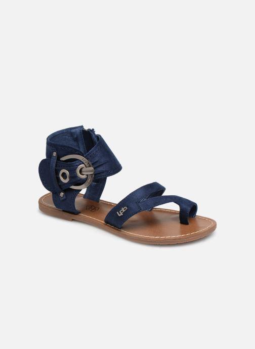 Sandales et nu-pieds Les P'tites Bombes PENSEE Bleu vue détail/paire