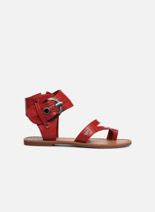 Sandales et nu-pieds Les P'tites Bombes PENSEE Rouge vue derrière