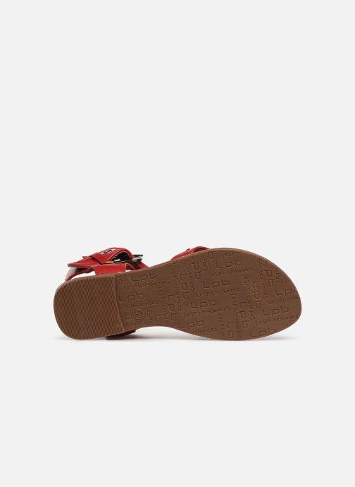 Sandales et nu-pieds Les P'tites Bombes PENSEE Rouge vue haut