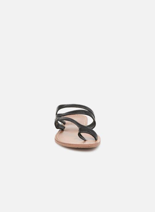 Sandales et nu-pieds Les P'tites Bombes TEXANE Noir vue portées chaussures
