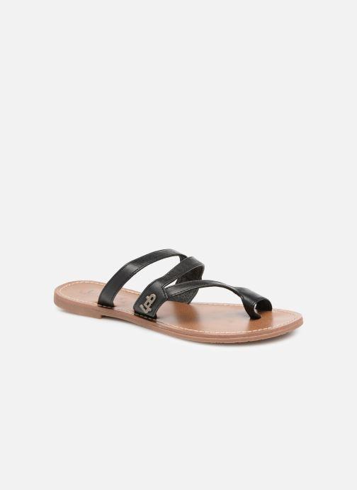 Sandales et nu-pieds Les P'tites Bombes TEXANE Noir vue détail/paire