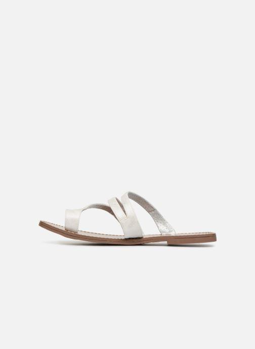 Sandals Les P'tites Bombes TEXANE White front view