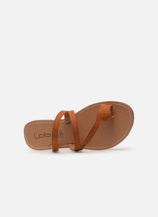 Sandales et nu-pieds Les P'tites Bombes TEXANE Marron vue gauche