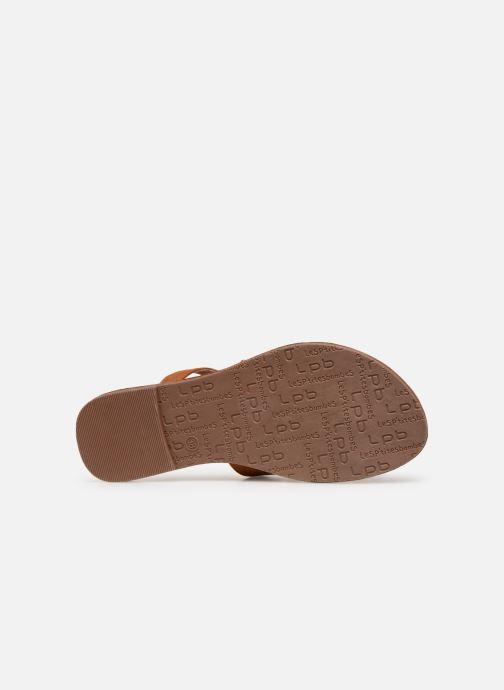 Sandales et nu-pieds Les P'tites Bombes TEXANE Marron vue haut