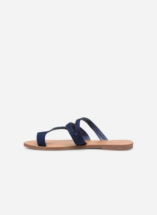 Sandales et nu-pieds Les P'tites Bombes TEXANE Bleu vue face