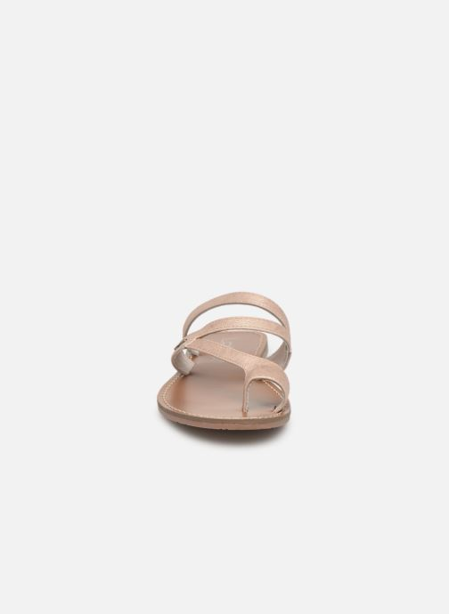 Sandales et nu-pieds Les P'tites Bombes TEXANE Beige vue portées chaussures