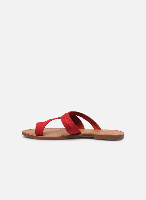 Sandales et nu-pieds Les P'tites Bombes TEXANE Rouge vue face