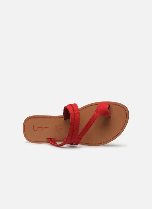 Sandales et nu-pieds Les P'tites Bombes TEXANE Rouge vue gauche