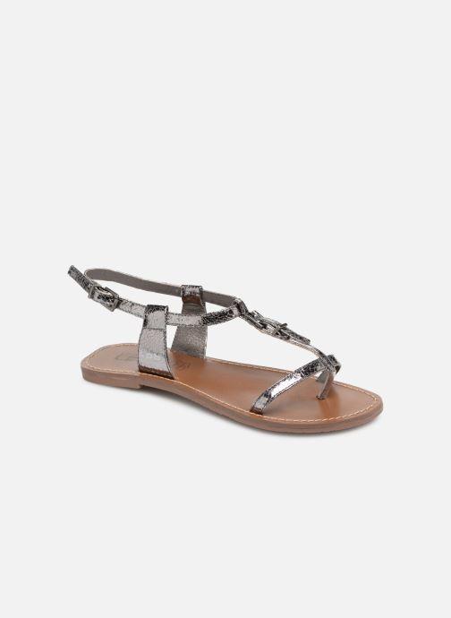 Sandales et nu-pieds Les P'tites Bombes ZHOE Gris vue détail/paire
