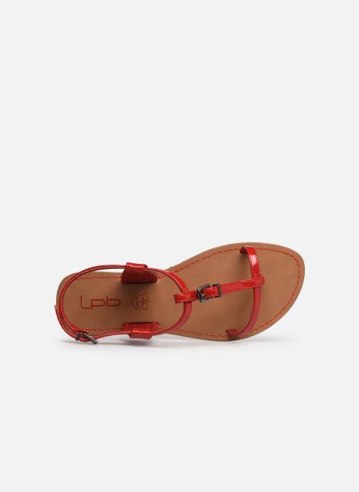 Sandales et nu-pieds Les P'tites Bombes ZHOE Rouge vue gauche