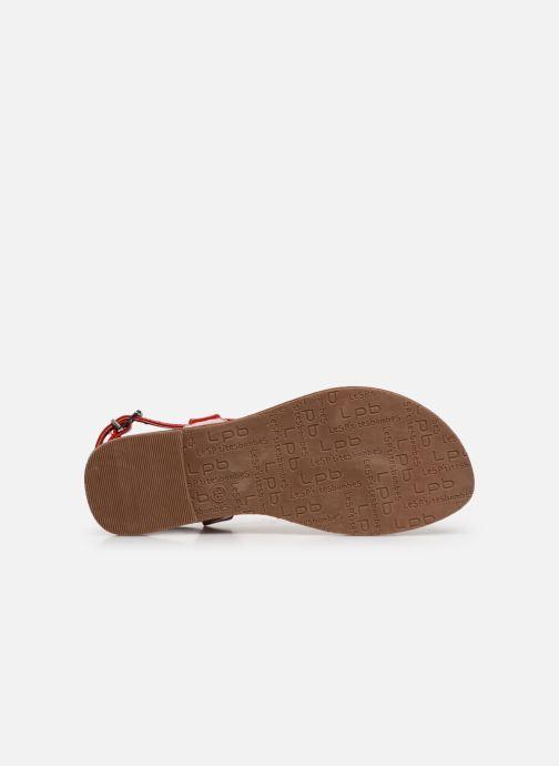 Sandales et nu-pieds Les P'tites Bombes ZHOE Rouge vue haut