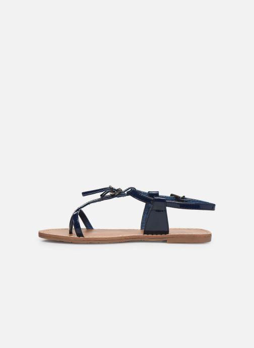 Sandales et nu-pieds Les P'tites Bombes ZHOE Bleu vue face