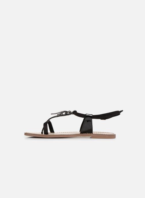 Sandals Les P'tites Bombes ZHOE Black front view