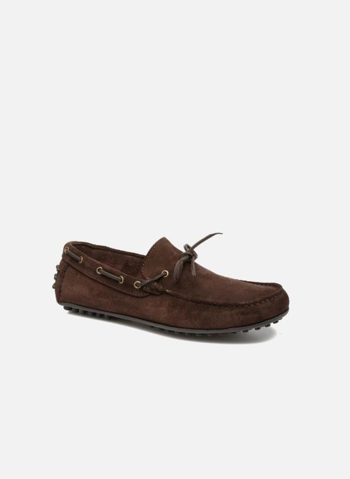 Loafers Marvin&co Stalban Brown detailed view/ Pair view
