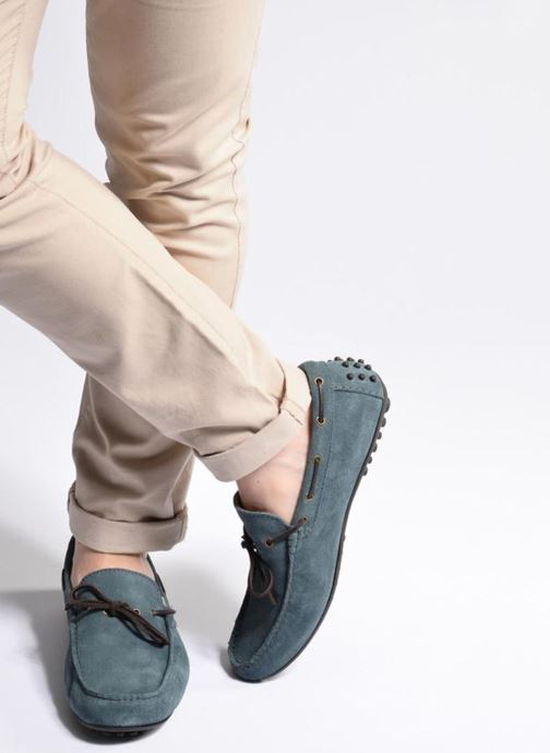 Loafers Marvin&co Stalban Blue view from underneath / model view