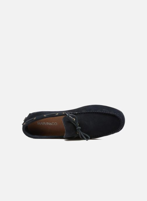 Loafers Marvin&co Stalban Blue view from the left