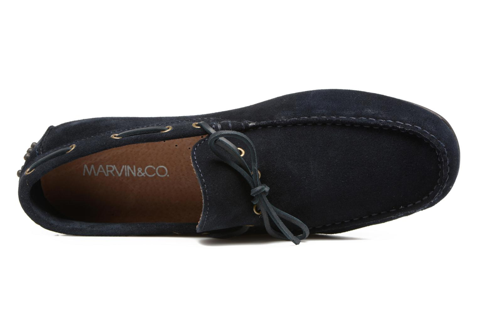 Mocassins Marvin&Co Stalban Blauw links