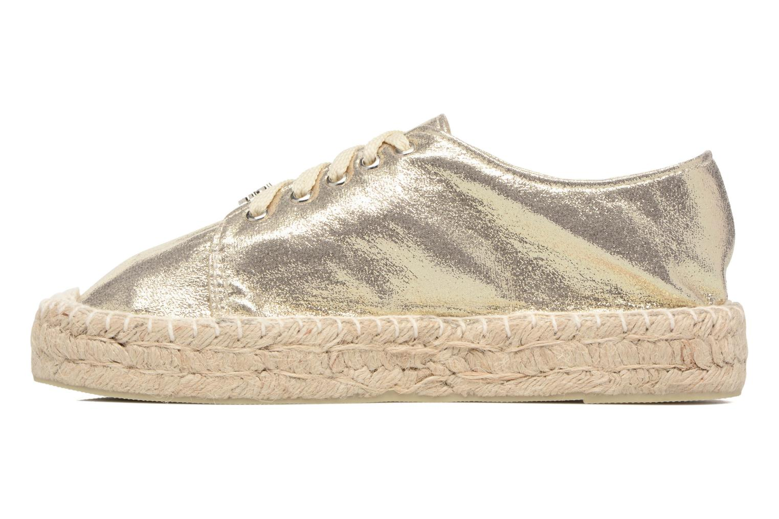 Espadrilles Molly Bracken Etoi Or et bronze vue face
