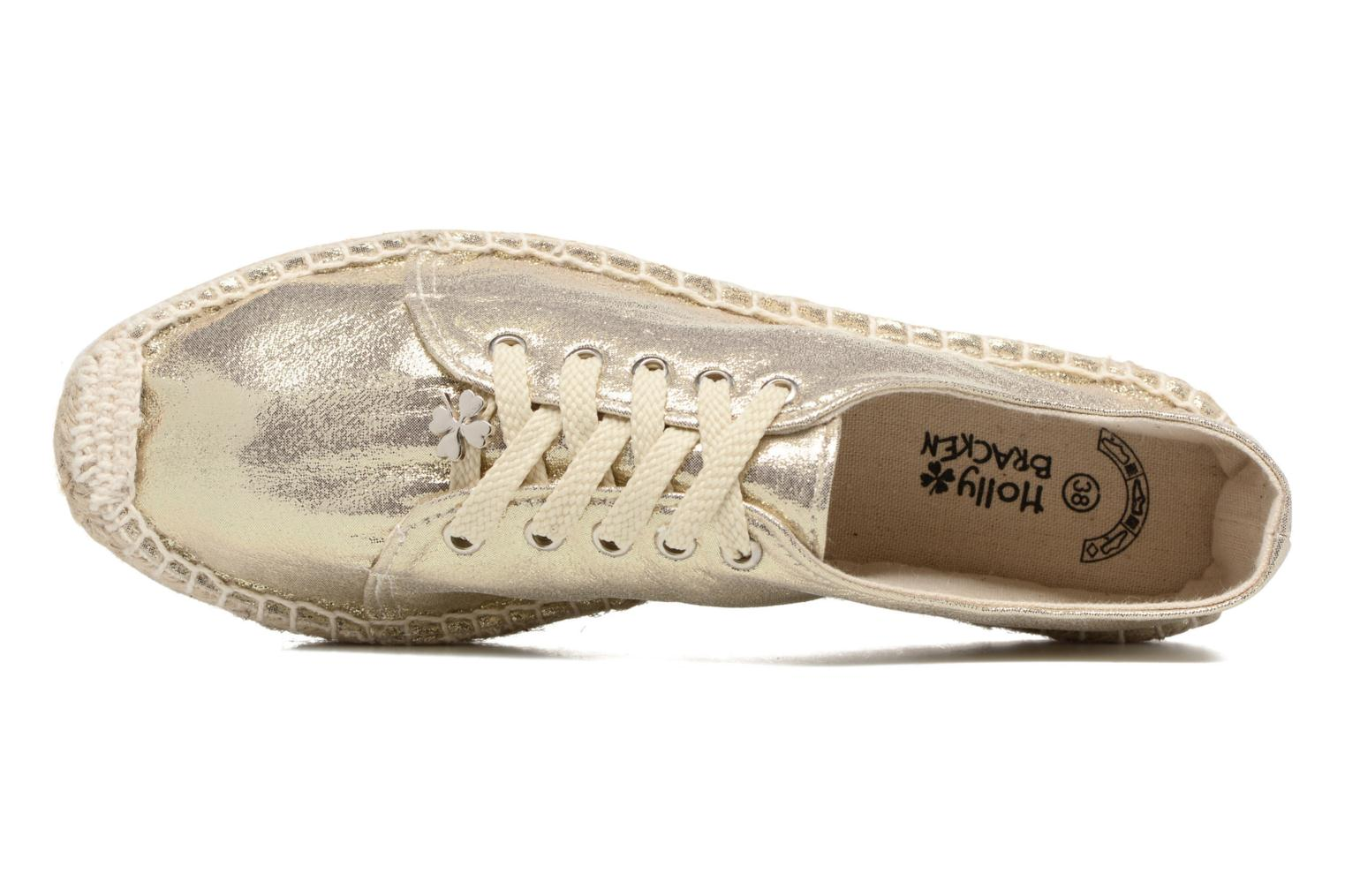Espadrilles Molly Bracken Etoi Goud en brons links