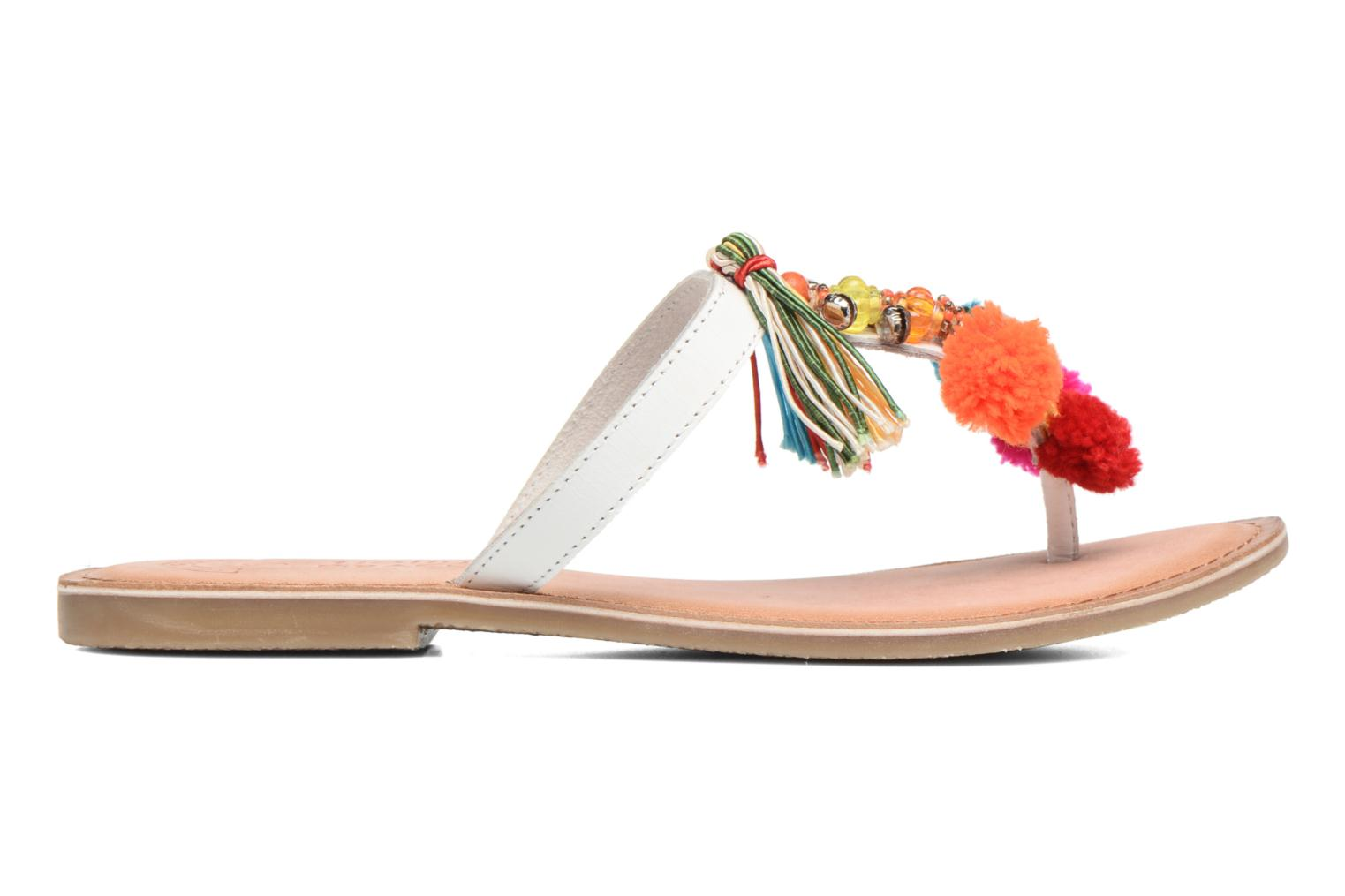 Sandalias Molly Bracken Home Blanco vistra trasera