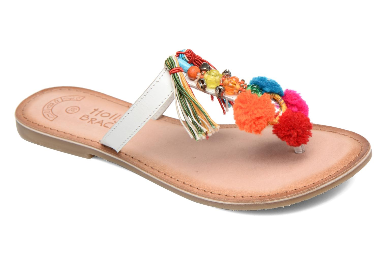 Sandalias Molly Bracken Home Blanco vista de detalle / par