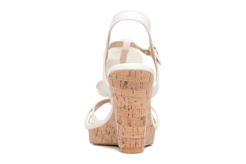 Sandales et nu-pieds Molly Bracken Nana Blanc vue droite