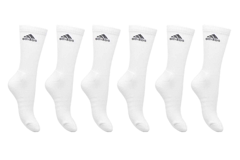 Sokken en panty's Adidas Performance 3S PER CR HC 6P Wit detail