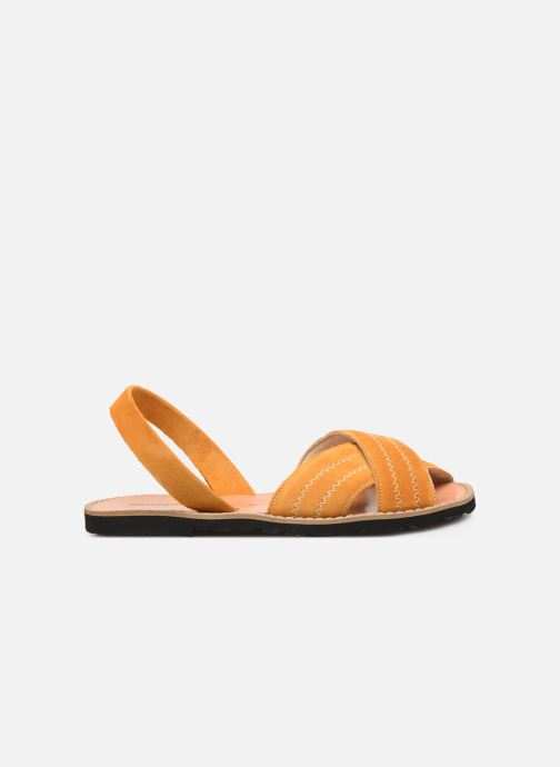 Sandales et nu-pieds MINORQUINES Avarca Berlin Jaune vue derrière
