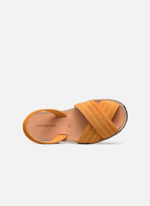 Sandales et nu-pieds MINORQUINES Avarca Berlin Jaune vue gauche