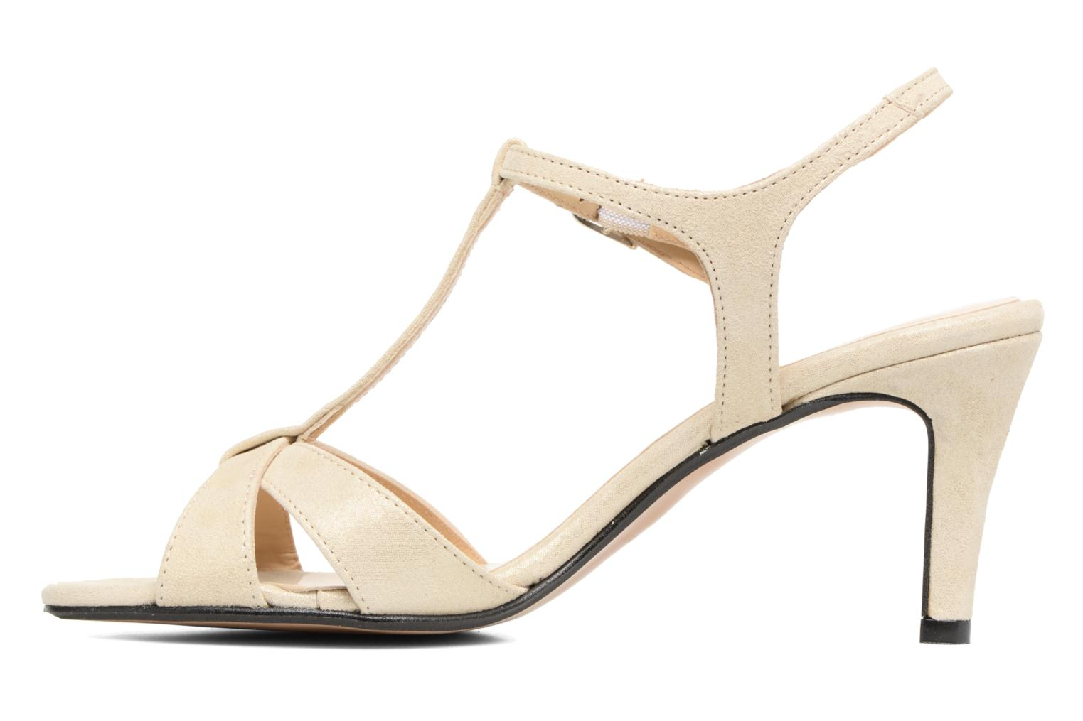 Sandals Georgia Rose Satine Beige front view