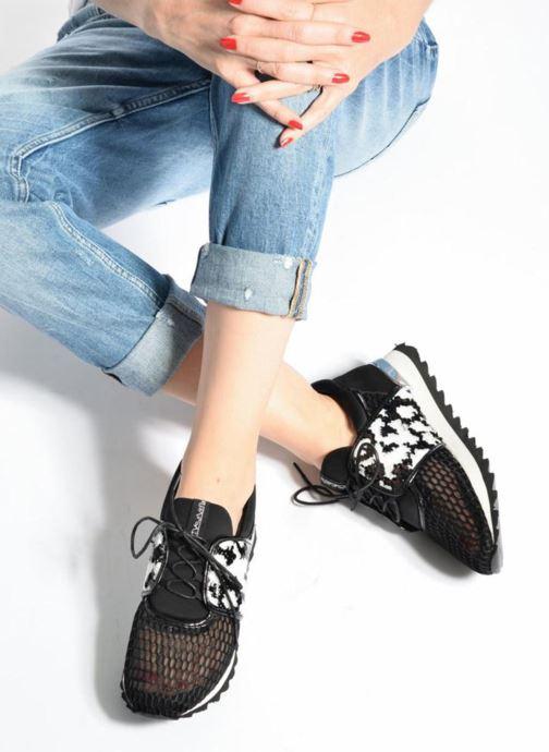 Sneaker Sixty Seven Well 78790 schwarz ansicht von unten / tasche getragen