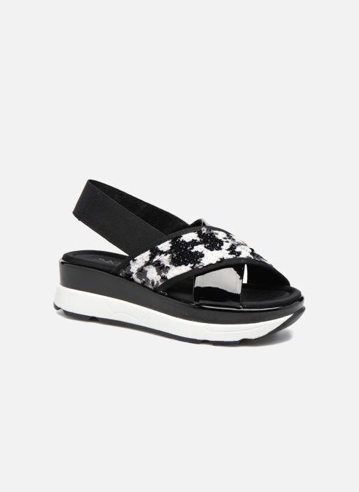 Sandales et nu-pieds Sixty Seven Oden 78602 Noir vue détail/paire