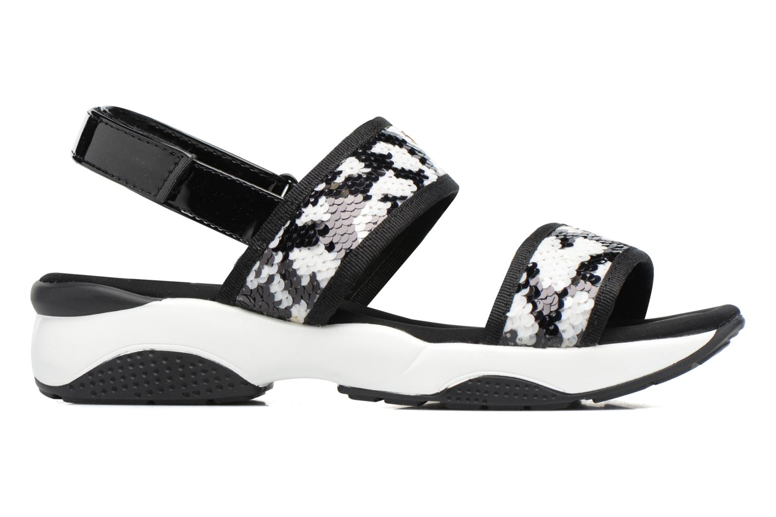 Sandals Sixty Seven Ahis 78785 Black back view