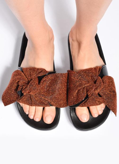 Mules & clogs Sixty Seven Net 78907 Black view from underneath / model view
