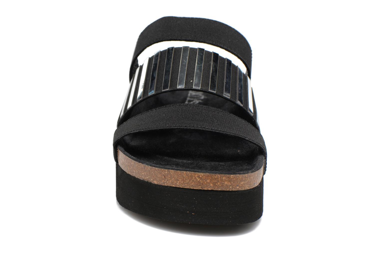 Sandales et nu-pieds Sixty Seven Strie 78844 Noir vue portées chaussures