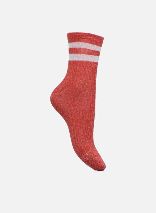 Chaussettes et collants Sarenza Wear Chaussettes lurex Femme Sporty Rouge vue détail/paire