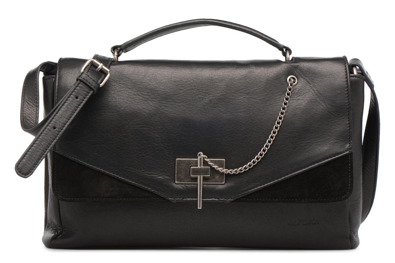 Handtassen Nat & Nin Saona Zwart detail